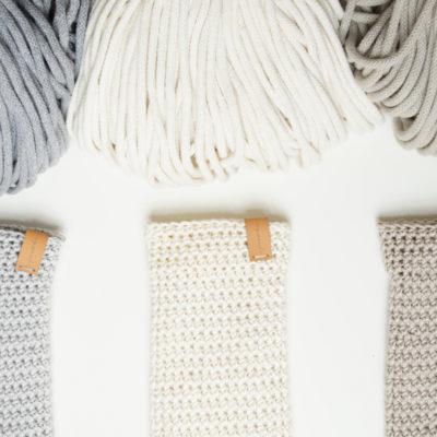 Woreczki relaksacyjne, sznurek bawełniany