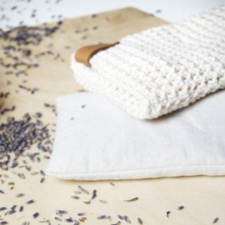 Wnętrze- woreczek z surówki bawełnianej
