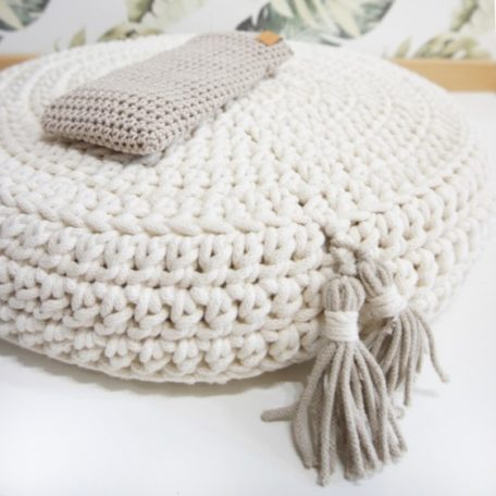 Zdjęcie zestawu: poduszka do medytacji + woreczek relaksacyjny
