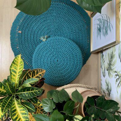 Akcesoria do medytacji: poduszka do medytacji i dywanik