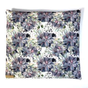 Poduszka z łuską gryki Kaktusy