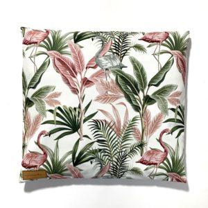 Poduszka z łuską gryki Flamingi