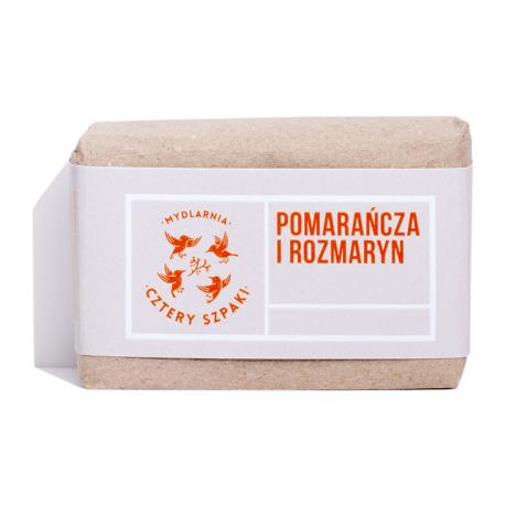 Mydlarnia 4 Szpaki Mydło Pomarańcza i rozmaryn