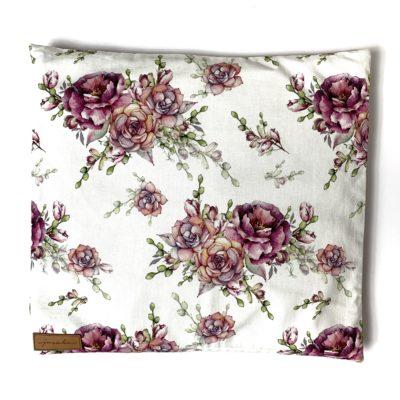 Poduszka z łuską gryki Opuncje i Róże