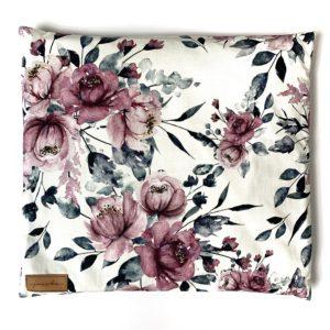 Poduszka z łuską gryki Szare Róże