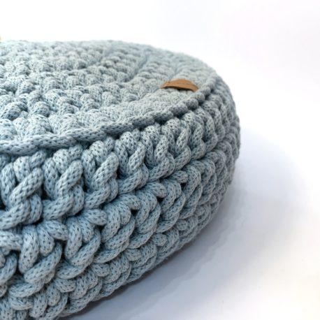 Poduszka inspirowana jogą. Mgiełka