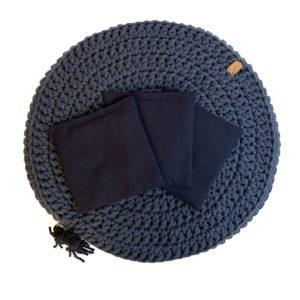 Woreczek lawendowy do poduszki Bawełniany RÓŻNE KOLORY – Granat