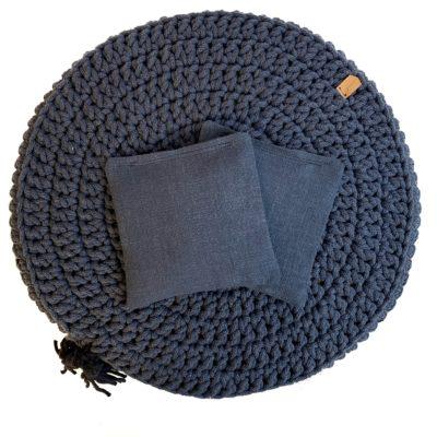 Woreczek lawendowy do poduszki Lniany RÓŻNE KOLORY