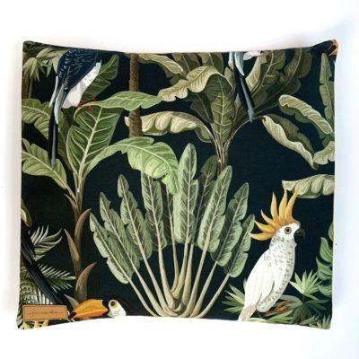 Poduszka z łuską gryki Tukany i papugi