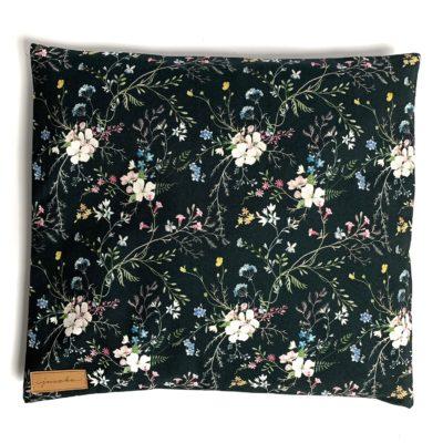 Poduszka z łuską gryki Noc w ogrodzie
